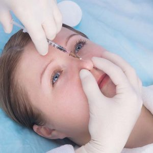Rhinoplastie, injection du nez clinique St roch